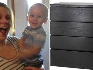 Bimbo di 2 anni muore schiacciato dalla cassettiera Ikea già richiamata, ottava vittima