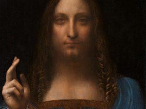 Il Salvator Mundi, realizzato da Leonardo fra il 1490 e il 1519 circa.