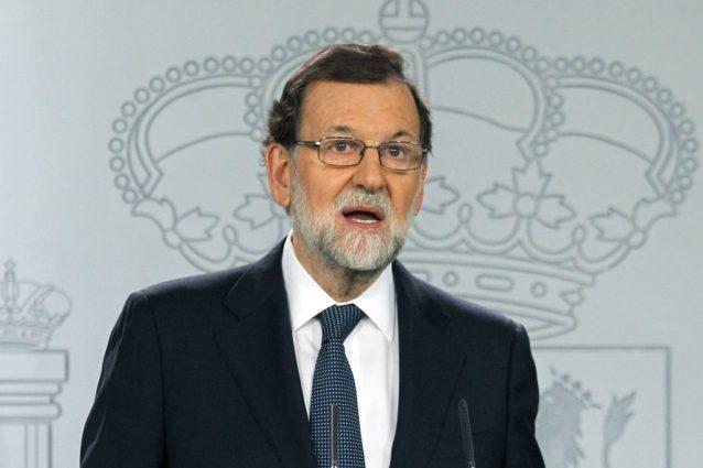 """Rajoy: """"Puigdemont chiarisca se ha dichiarato l'indipendenza della Catalogna"""""""