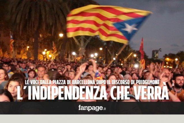 Puigdemont sospende l'indipendenza: le reazioni dei catalani
