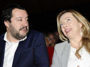 """Como, Salvini: """"Problema è Renzi, non presunti fascisti"""". Meloni: """"Mi fa schifo ipocrisia sinistra"""""""