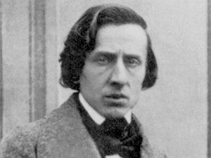 Frédéric Chopin nell'unica fotografia oggi conosciuta, scattata nel 1849 da Louis–Auguste Bisson.