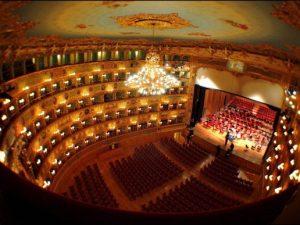 Il Gran Teatro La Fenice di Venezia.