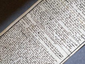 """Il manoscritto de """"Le 120 giornate di Sodoma"""" è stato dichiarato tesoro nazionale."""