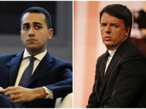 "Di Maio a Renzi: ""Assassino politico, ha fatto il Job Act"". L'ex premier: ""Vergognoso"""