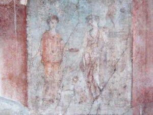 Sfregio a Pompei, l'affresco di Bacco e Arianna che racconta l'ebbrezza d'amor