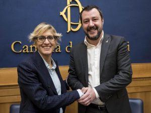Salvini vuole Giulia Bongiorno presidente del Senato, ma l'a