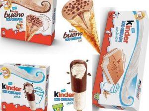 I gelati Kinder arrivano anche in Italia, Ferrero si lancia
