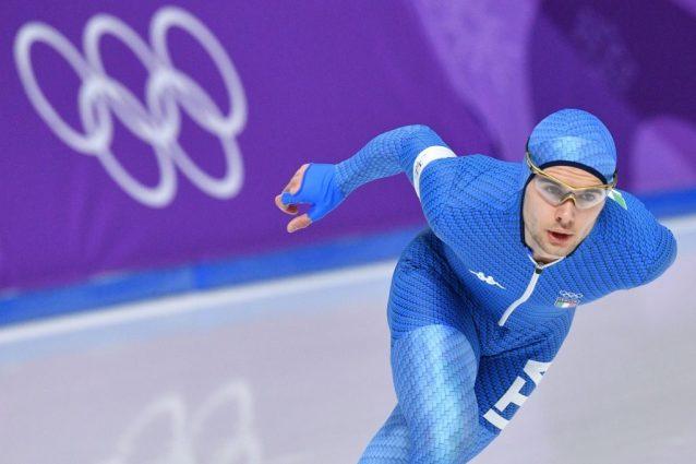 Olimpiadi invernali, Tumolero di bronzo nel pattinaggio di velocità