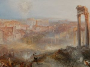 William Turner: l'artista inglese che amò Roma in mostra nel