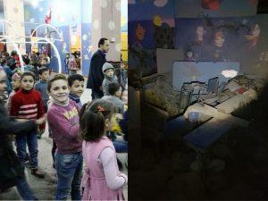 Ghouta, bomba centra una scuola sotterranea: muoiono 17 bambini
