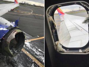 Esplode motore e il finestrino va in frantumi durante il volo |  panico a bordo dell'aereo