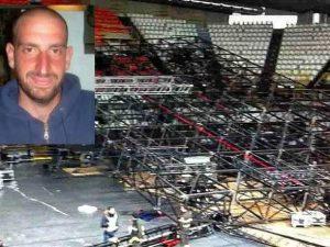 Pausini, palco crollato. 5 condanne per la morte dell'operai