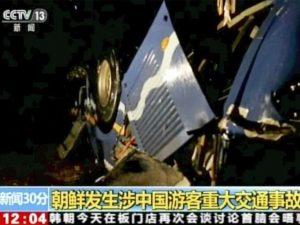 Corea del Nord, morti 32 turisti cinesi in un drammatico inc