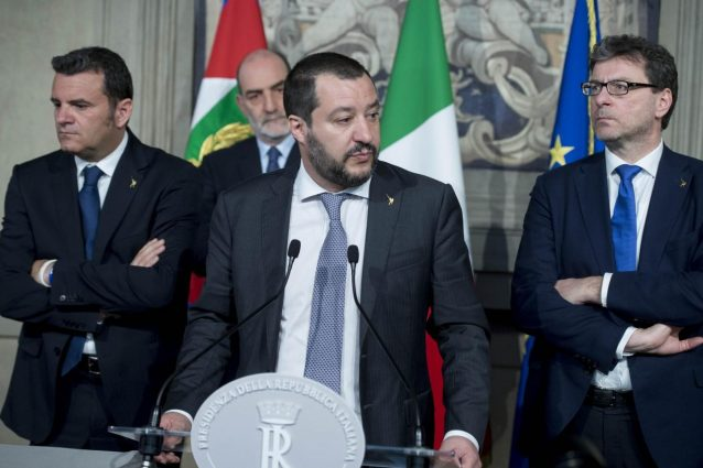 Salvini, prendo in mano la situazione