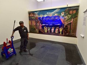 Non chiamateli custodi: nei musei milanesi i vigilantes teng