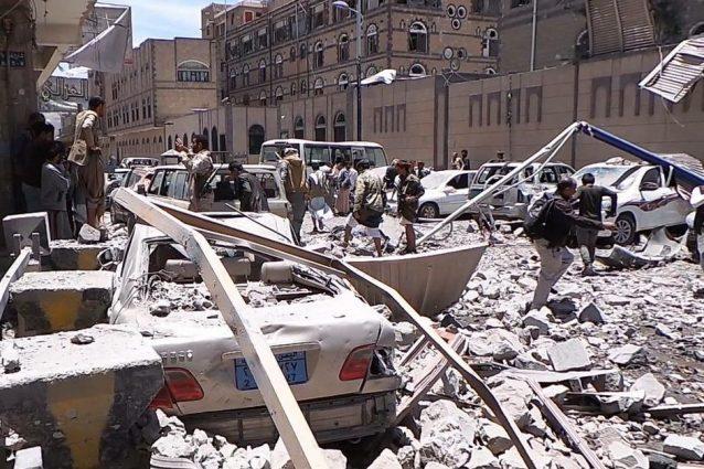 La guerra dimenticata in yemen video di bombe dell 39 arabia for La capitale dell arabia saudita