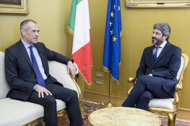 Cottarelli attende di maio propone di spostare savona a for Camera dei deputati live