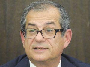 """Il ministro dell'Economia Giovanni Tria: """"Se la crescita ral"""