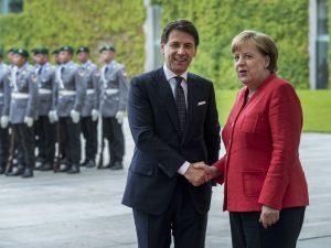 "Vertice Italia Germania, Angela Merkel: ""Sui migranti collab"