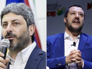 """Caso Lodi, Salvini attacca Fico: """"Faccia il presidente della"""
