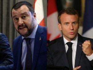 """Migranti, braccio di ferro Italia-Francia. Salvini: """"Macron arrogante, apra i porti"""""""