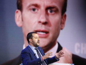 """Migranti, Matteo Salvini: """"Se Macron vuole discutere di immi"""