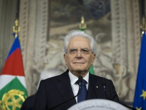 "Mattarella |  ""Non c'è movimento che possa mettere in discussione i valori europei"""