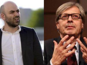 """Sgarbi sulla scorta a Saviano: """"Meglio proteggere gli italiani che si ammazzano per il Fisco"""""""