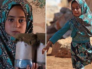 Maya, la bimba siriana non ha le gambe: il padre le costruis