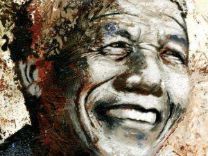 """La copertina della graphic novel """"Nelson Mandela. L'anima invincibile"""", pubblicata da Gribaudo."""