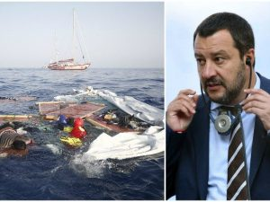 Salvini e le responsabilità negate di fronte alle immagini d