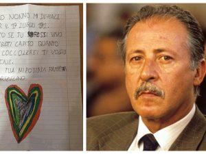 """La nipote di Borsellino scrive una lettera al nonno: """"Se fos"""