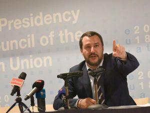 """Salvini: """"Mia presenza alla finale Mondiale organizzata dall"""
