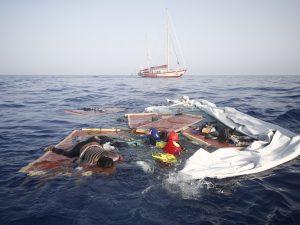"""Ministro Salvini, ecco la tua Guardia Costiera libica, il tuo porto """"sicuro"""""""