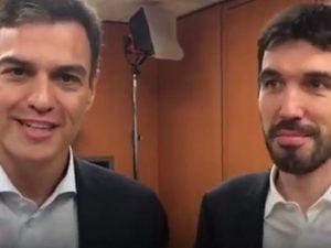 """Il segretario Pd Maurizio Martina incontra il premier spagnolo Pedro Sanchez: """"Lanciamo una nuova sinistra ..."""