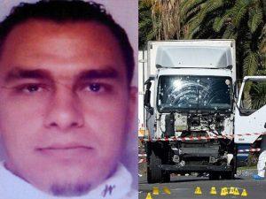 Mohamed Lahouaiej–Bouhlel e il camion utilizzato nell'attentato del 14 luglio 2016 a Nizza