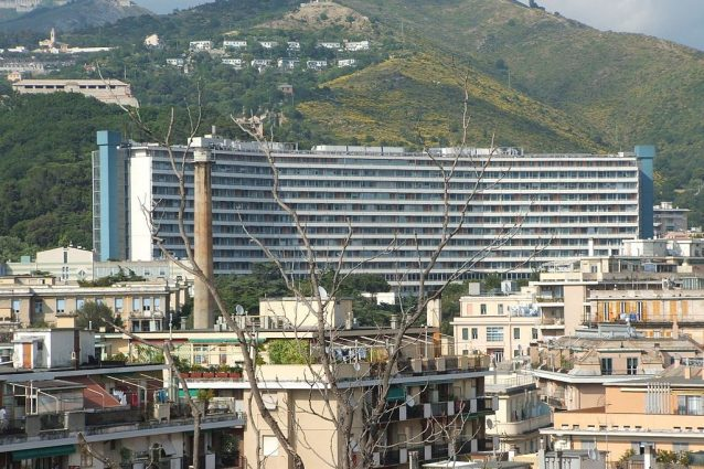 Ospedale San Martino di Genova (Wikipedia).
