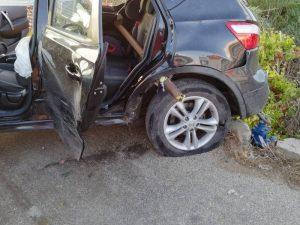 Agrigento: palo infilza auto durante un incidente e uccide b