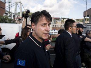 """Crollo Ponte Morandi a Genova, Conte: """"Autostrade doveva pre"""