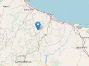 Terremoto, paura in Molise: scossa di 4.6 avvertita anche in