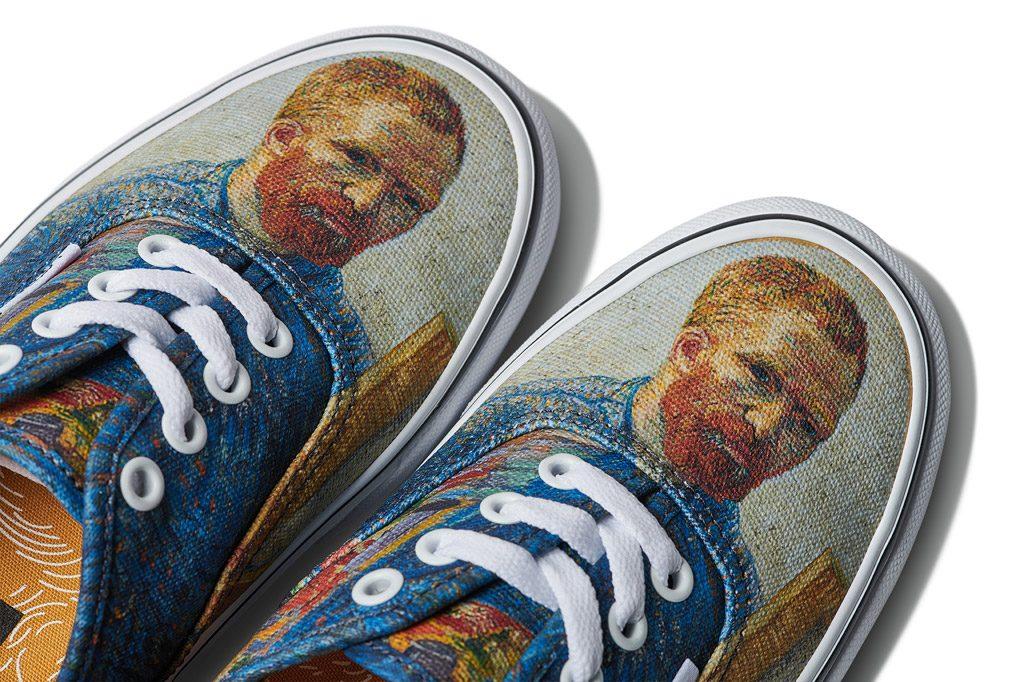 Il van Gogh Museum e Vans lanciano una linea di scarpe: povero ...