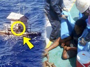 Ragazzo di 19 anni sopravvive 49 giorni in una piccola barca