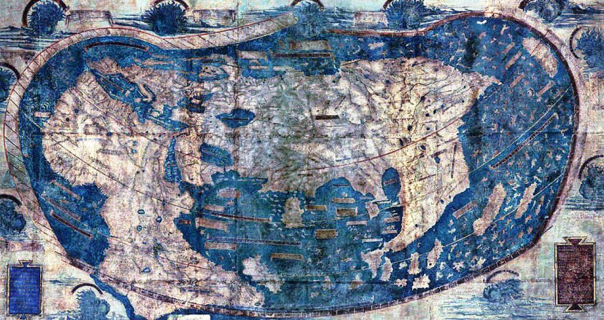 Cartina Muta Delle Americhe.Com Era Il Mondo Prima Di Cristoforo Colombo La Risposta In Una Mappa Del 1491