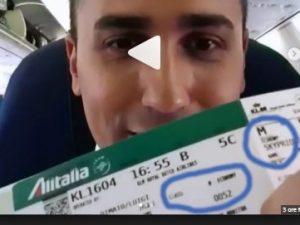 La bufala del biglietto aereo in Business class di Luigi Di