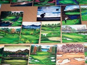 Innocente scarcerato dopo 27 anni grazie ai suoi disegni di campi da golf