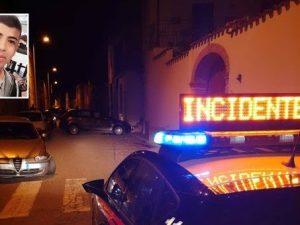Simone Casu, 14 anni, travolto e ucciso da un'auto a Sant'An