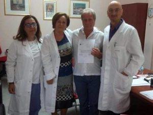 Tenta il suicidio nell'ospedale di Foggia |  salvato da Giuseppe |  infermiere eroe