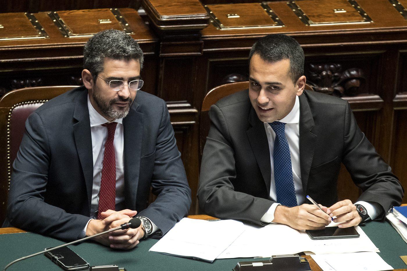 Riduzione dei parlamentari e taglio delle pensioni d 39 oro for Numero parlamentari m5s