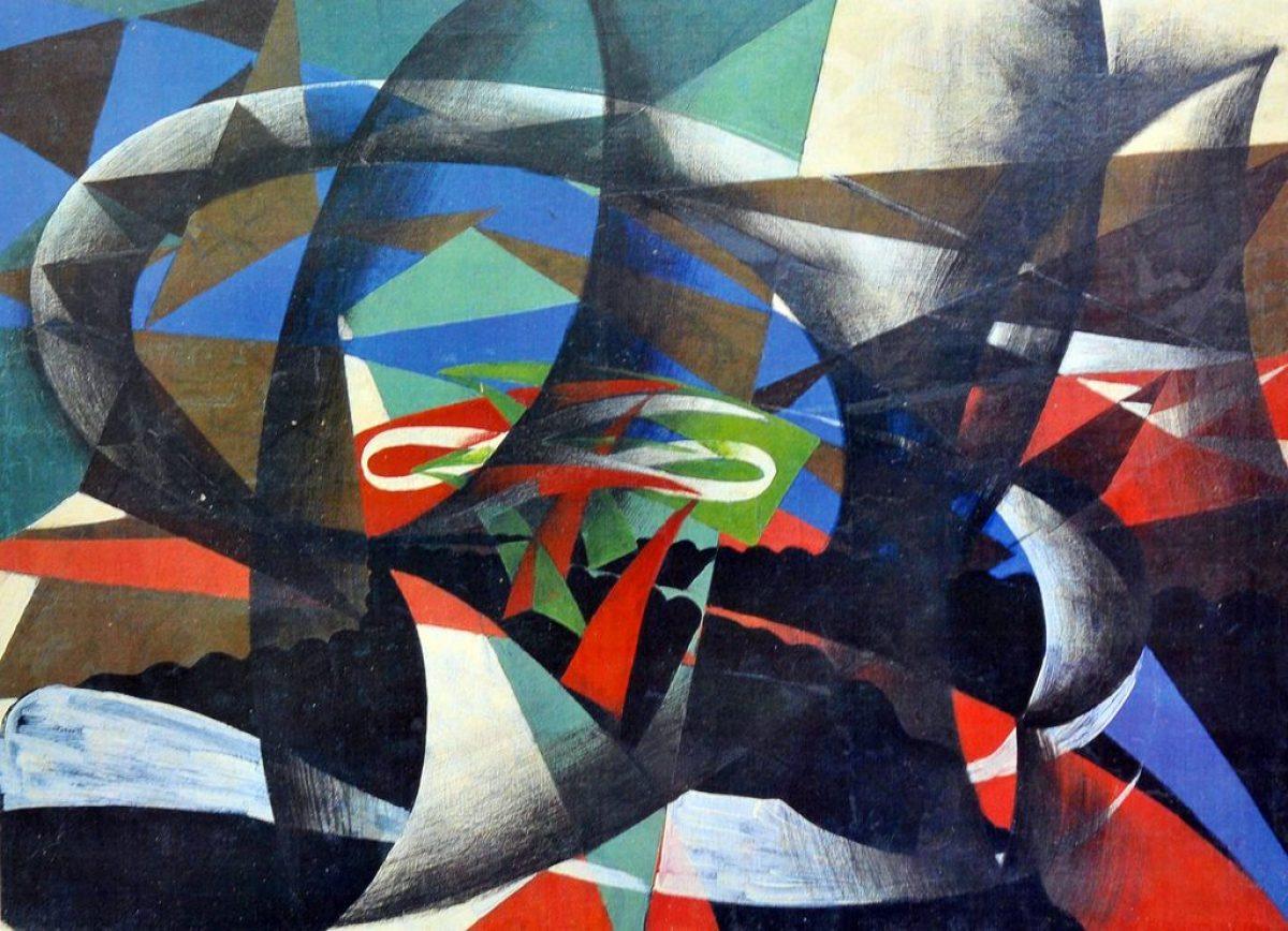 A Roma pitture murali di Giacomo Balla riemerse: il Bal ...
